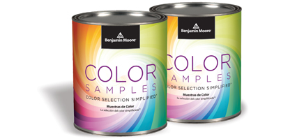 Blue Jay Paint Color Samples
