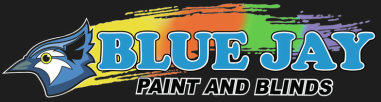 Blue Jay Paint & Blinds logo